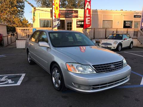 2003 Toyota Avalon for sale in Rancho Cordova, CA
