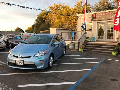 2013 Toyota Prius Plug-in Hybrid for sale at TOP QUALITY AUTO in Rancho Cordova CA
