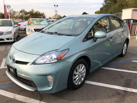 2013 Toyota Prius Plug-in Hybrid for sale in Rancho Cordova, CA