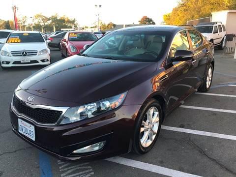 2012 Kia Optima for sale at TOP QUALITY AUTO in Rancho Cordova CA