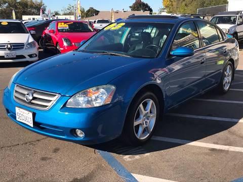 2003 Nissan Altima for sale at TOP QUALITY AUTO in Rancho Cordova CA