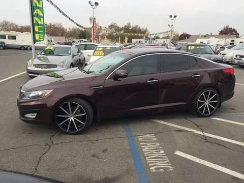 2013 Kia Optima for sale at TOP QUALITY AUTO in Rancho Cordova CA