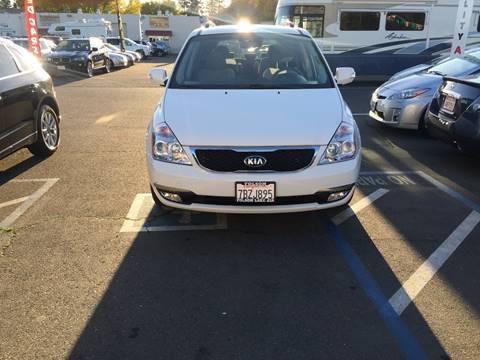 2014 Kia Sedona for sale at TOP QUALITY AUTO in Rancho Cordova CA