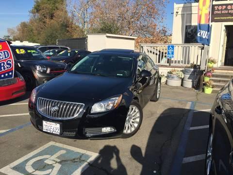 2011 Buick Regal for sale at TOP QUALITY AUTO in Rancho Cordova CA