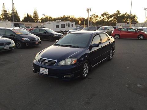 2007 Toyota Corolla for sale at TOP QUALITY AUTO in Rancho Cordova CA