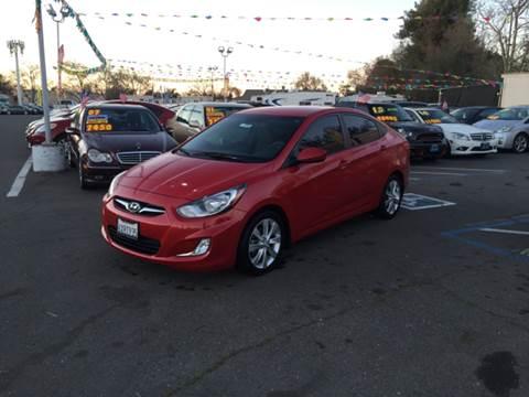 2013 Hyundai Accent for sale at TOP QUALITY AUTO in Rancho Cordova CA