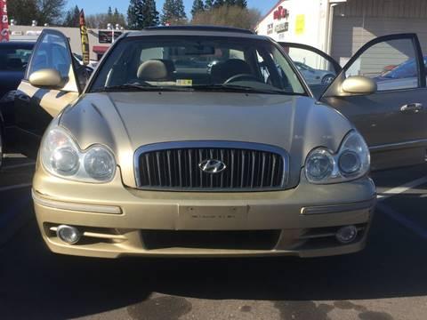 2002 Hyundai Sonata for sale at TOP QUALITY AUTO in Rancho Cordova CA