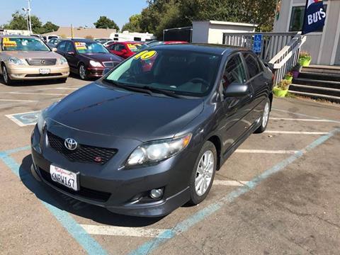 2010 Toyota Corolla for sale at TOP QUALITY AUTO in Rancho Cordova CA