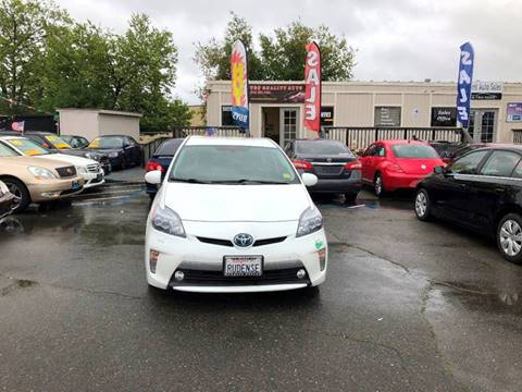 2012 Toyota Prius Plug-in Hybrid for sale at TOP QUALITY AUTO in Rancho Cordova CA