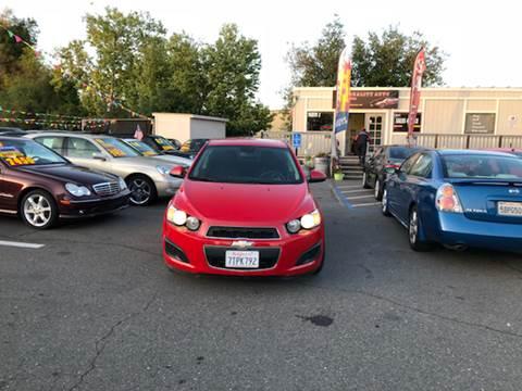 2013 Chevrolet Sonic for sale at TOP QUALITY AUTO in Rancho Cordova CA