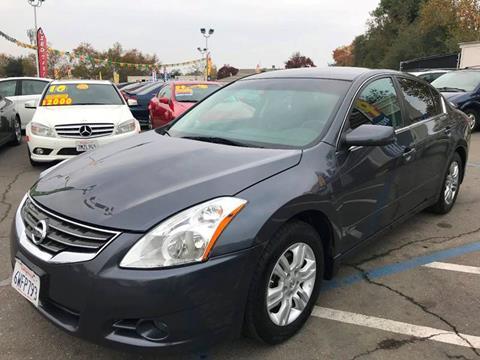 2012 Nissan Altima for sale at TOP QUALITY AUTO in Rancho Cordova CA