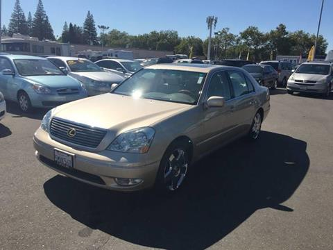 2001 Lexus LS 430 for sale at TOP QUALITY AUTO in Rancho Cordova CA