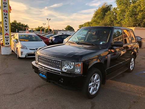 2005 Land Rover Range Rover for sale at TOP QUALITY AUTO in Rancho Cordova CA