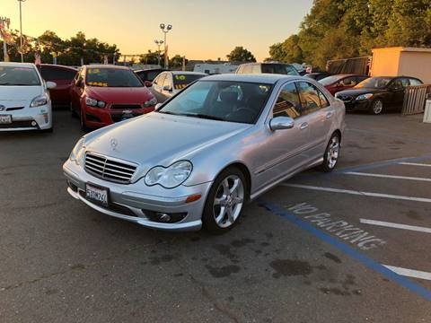 2007 Mercedes-Benz C-Class for sale at TOP QUALITY AUTO in Rancho Cordova CA