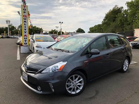 2012 Toyota Prius v for sale at TOP QUALITY AUTO in Rancho Cordova CA