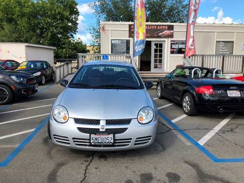 2005 Dodge Neon for sale at TOP QUALITY AUTO in Rancho Cordova CA