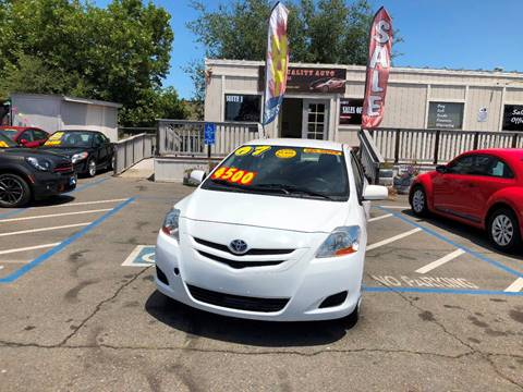 2007 Toyota Yaris for sale at TOP QUALITY AUTO in Rancho Cordova CA