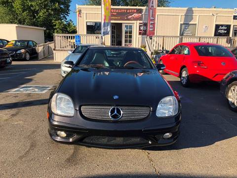 2003 Mercedes-Benz SLK for sale at TOP QUALITY AUTO in Rancho Cordova CA