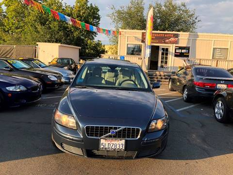 2005 Volvo S40 for sale at TOP QUALITY AUTO in Rancho Cordova CA