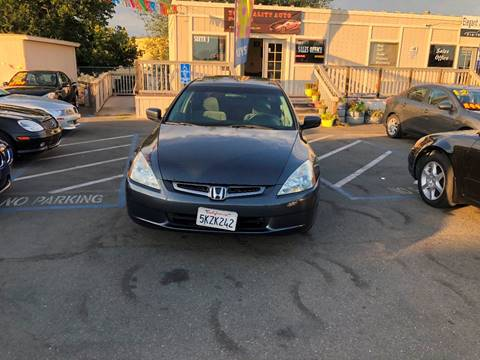 2005 Honda Accord for sale at TOP QUALITY AUTO in Rancho Cordova CA