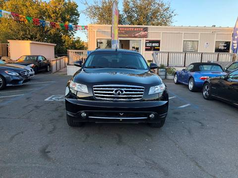 2007 Infiniti FX35 for sale at TOP QUALITY AUTO in Rancho Cordova CA