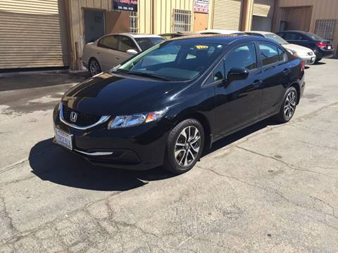 2015 Honda Civic for sale at TOP QUALITY AUTO in Rancho Cordova CA