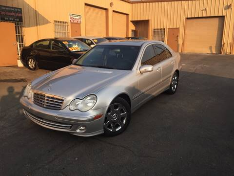 2005 Mercedes-Benz C-Class for sale at TOP QUALITY AUTO in Rancho Cordova CA