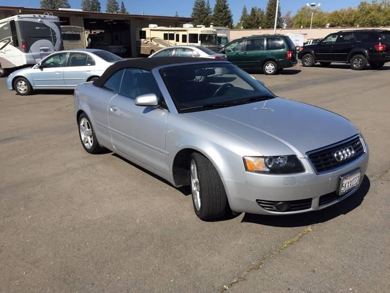 2004 Audi A4 for sale at TOP QUALITY AUTO in Rancho Cordova CA