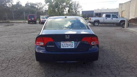 2007 Honda Civic for sale at TOP QUALITY AUTO in Rancho Cordova CA