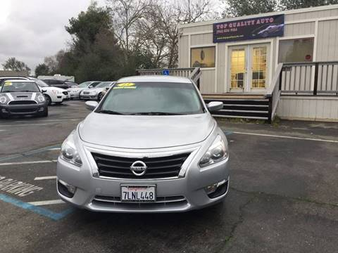 2013 Nissan Altima for sale at TOP QUALITY AUTO in Rancho Cordova CA
