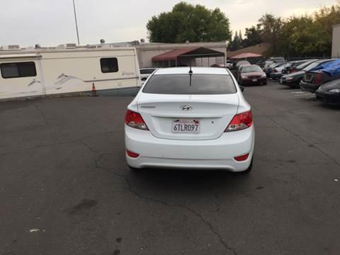 2012 Hyundai Accent for sale at TOP QUALITY AUTO in Rancho Cordova CA