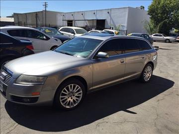 2006 Audi A6 for sale at TOP QUALITY AUTO in Rancho Cordova CA