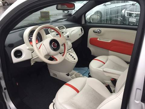 2013 FIAT 500e for sale at TOP QUALITY AUTO in Rancho Cordova CA