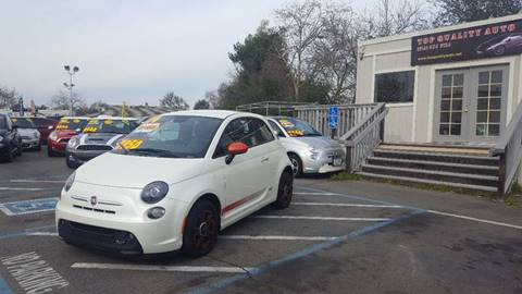 2014 FIAT 500e for sale at TOP QUALITY AUTO in Rancho Cordova CA