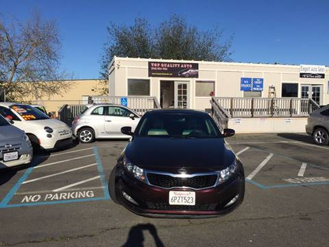 2011 Kia Optima for sale at TOP QUALITY AUTO in Rancho Cordova CA
