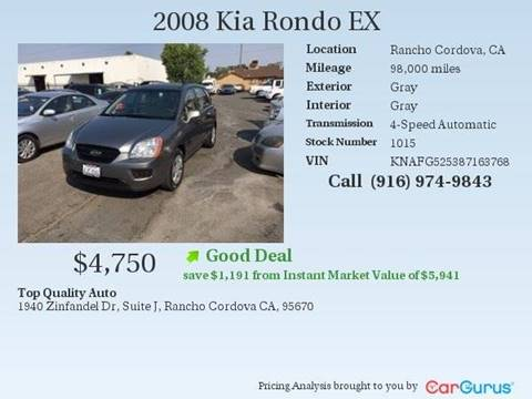 2008 Kia Rondo for sale at TOP QUALITY AUTO in Rancho Cordova CA