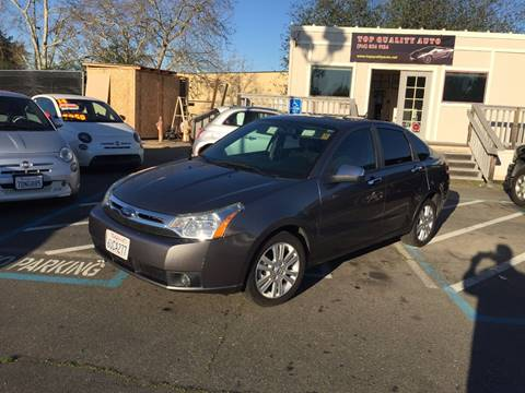 2010 Ford Focus for sale at TOP QUALITY AUTO in Rancho Cordova CA