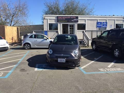 2015 FIAT 500e for sale at TOP QUALITY AUTO in Rancho Cordova CA