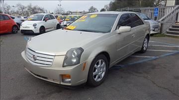 2007 Cadillac CTS for sale at TOP QUALITY AUTO in Rancho Cordova CA
