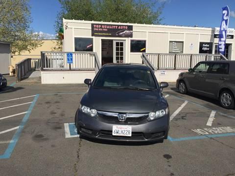 2011 Honda Civic for sale at TOP QUALITY AUTO in Rancho Cordova CA