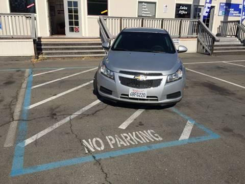 2011 Chevrolet Cruze for sale at TOP QUALITY AUTO in Rancho Cordova CA