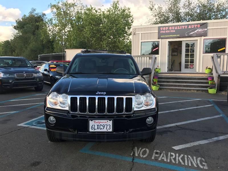 2005 Jeep Grand Cherokee for sale at TOP QUALITY AUTO in Rancho Cordova CA