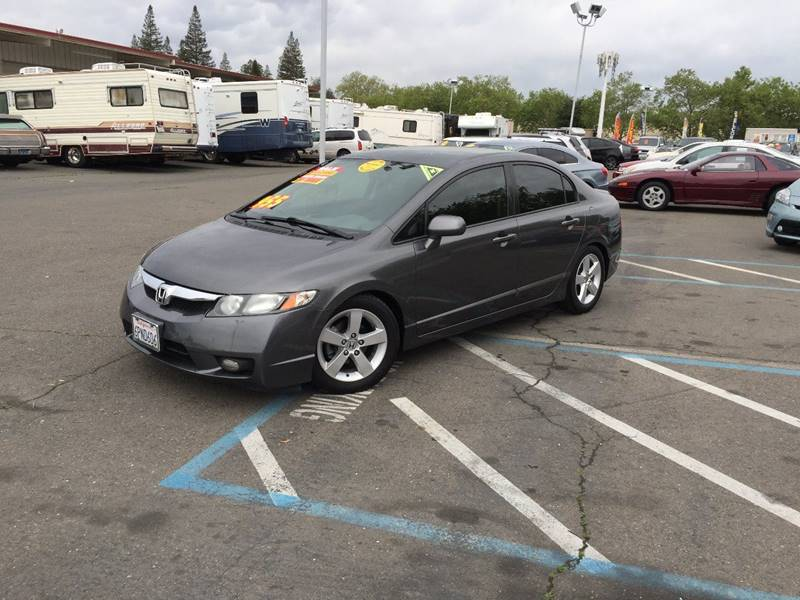 2011 Honda Civic LX S 4dr Sedan 5A   Rancho Cordova CA