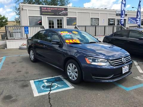 2013 Volkswagen Passat for sale at TOP QUALITY AUTO in Rancho Cordova CA