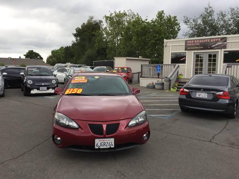2008 Pontiac Grand Prix for sale at TOP QUALITY AUTO in Rancho Cordova CA