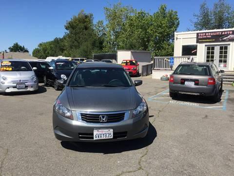 2008 Honda Accord for sale at TOP QUALITY AUTO in Rancho Cordova CA
