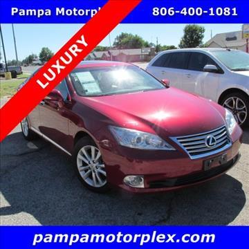 2011 Lexus ES 350 for sale in Pampa, TX