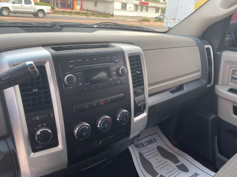 2010 Dodge Ram Pickup 1500 4x4 SLT Sport 4dr Crew Cab 5.5 ft. SB Pickup - Lakewood CO