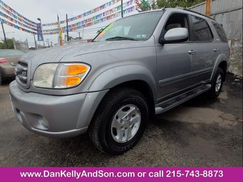 2001 Toyota Sequoia for sale in Philadelphia, PA