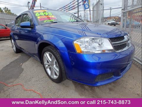 2012 Dodge Avenger for sale in Philadelphia, PA